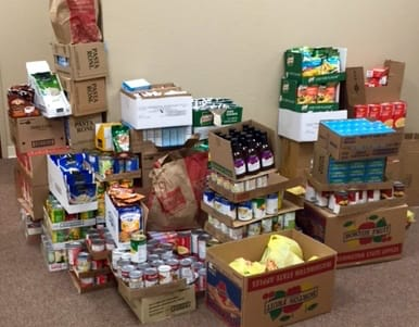 Federation of Labors Food Drive
